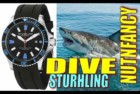 Aquadiver Regatta Diver's Stuhrling Watch