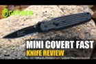 Gerber Mini Covert Fast Knife, Serrated Edge