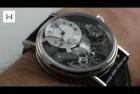 Breguet Tradition Black Skeleton Watch