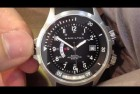 Hamilton Khaki Navy Black Dial GMT Men's Watch