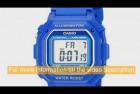 Casio Water Resistant Digital Watch
