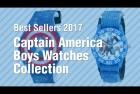 Marvel Kids' The Avengers Captain America Blue Watch
