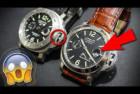 Panerai Luminor Left Handed Watch