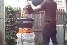 worx 13 amp electric leaf mulcher