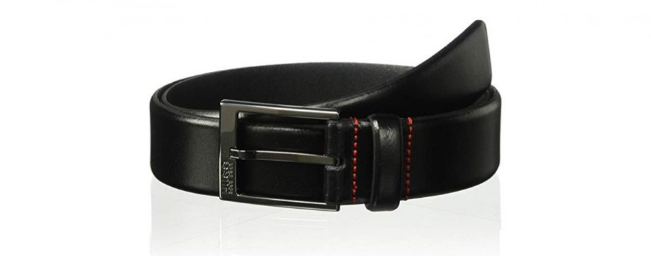 hugo boss garney leather belt