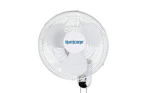 hurricane classic series oscillating wall mount fan
