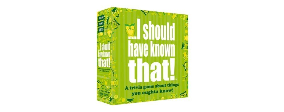 hygge games – i should have known that! trivia board game