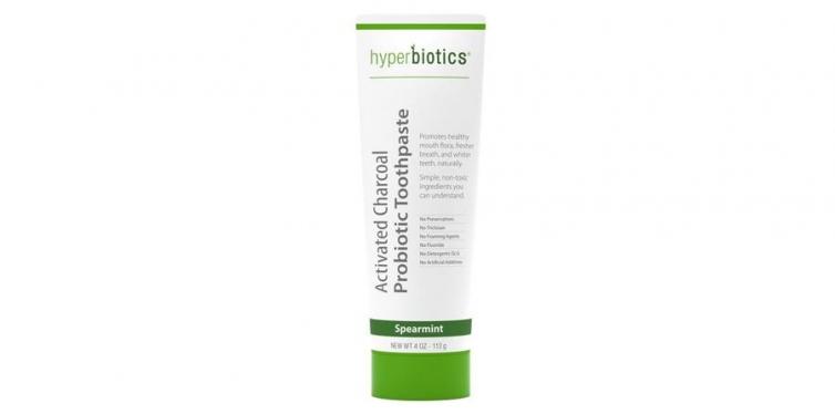 hyperbiotics probiotic charcoal toothpaste