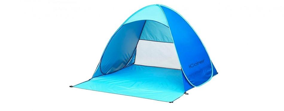iCorer Pop Up Beach Shelter