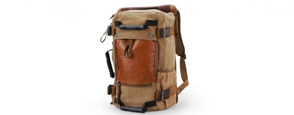 ibagbar canvas travel backpack