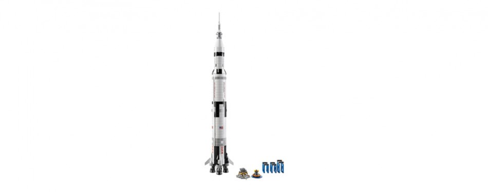 ideas nasa apollo saturn v lego set