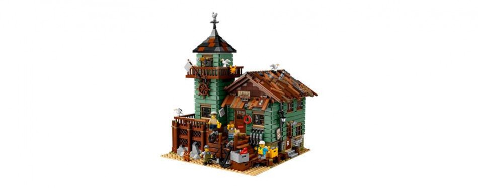 ideas old fishing store lego set