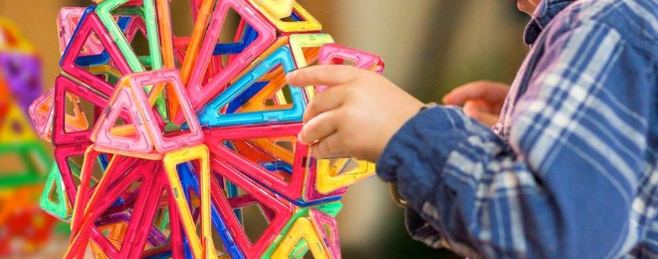 idoot Magnetic Blocks Building Set for Kids