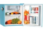 igloo rca retro blue bar mini fridge