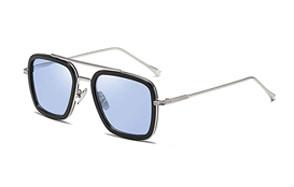 ikanoo retro aviator square sunglasses