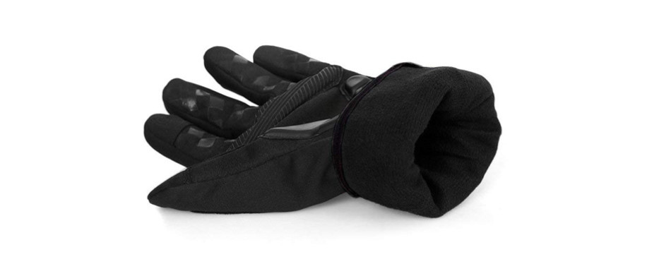 inbike windproof reflective thermal cycling gloves