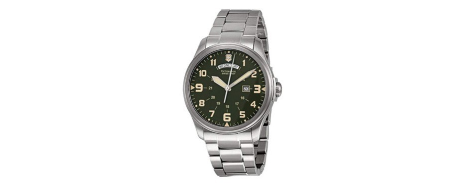 infantry stainless steel watch