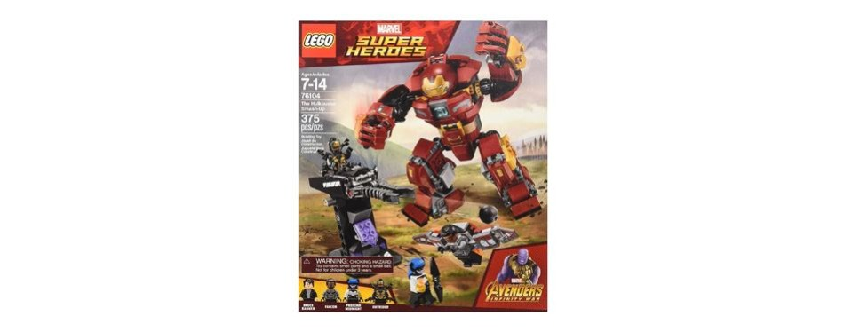 lego marvel super heroes avenger infinity war hulkbuster building kit