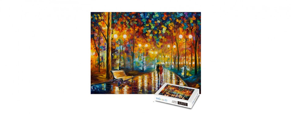 ingooood - rainy night walk - 1000 piece jigsaw puzzle