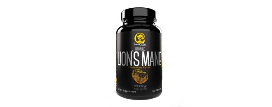 inner zen lion's mane organic mushroom extract