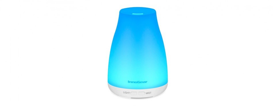 innogear cool mist humidifier and essential oil diffuser