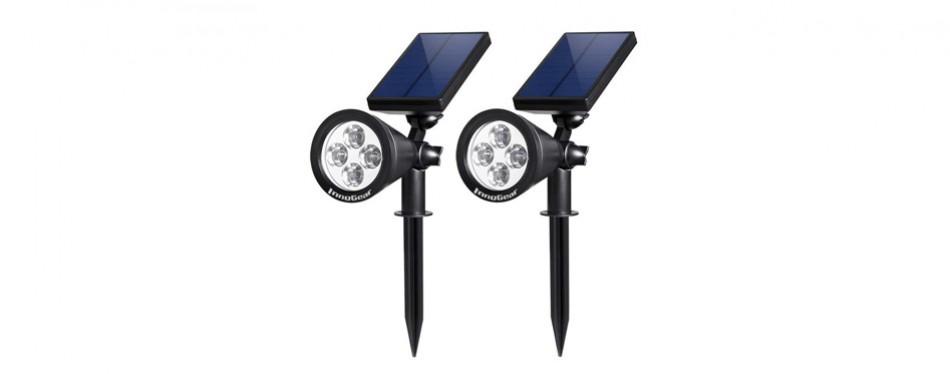 innogear upgraded 2-in-1 solar lights