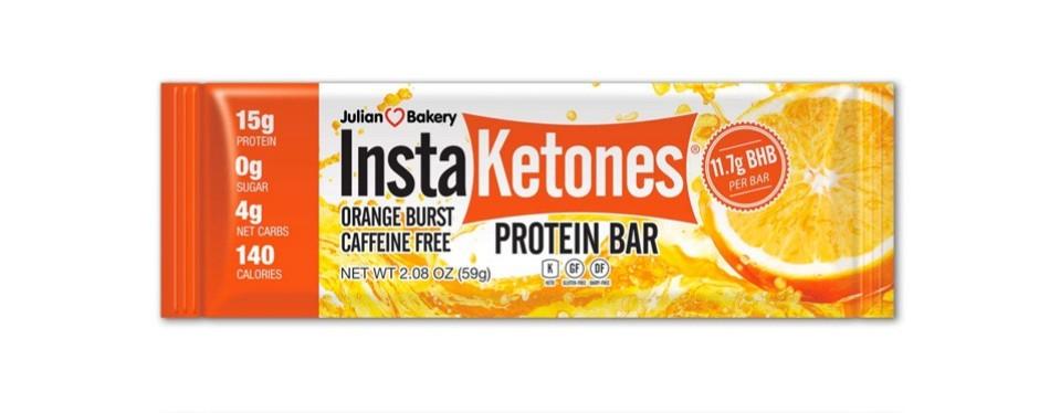 instaketones protein bar