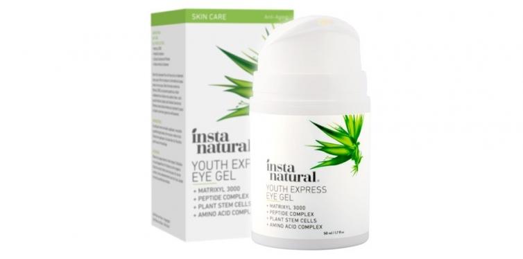 Insta Natural Eye Gel Cream for Men and Women
