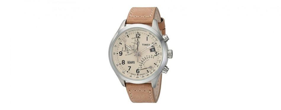 intelligent quartz fly-back chronograph