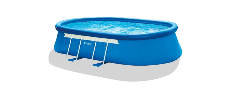 intex 18ft x 10ft x 42in oval frame pool