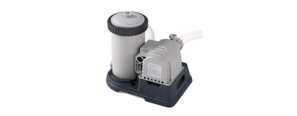 intex 28633eg krystal clear cartridge filter pump