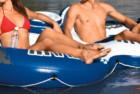 intex 58837ep river run ii sport lounge, inflatable water float