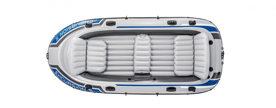 intex excursion 5, 5-person inflatable boat