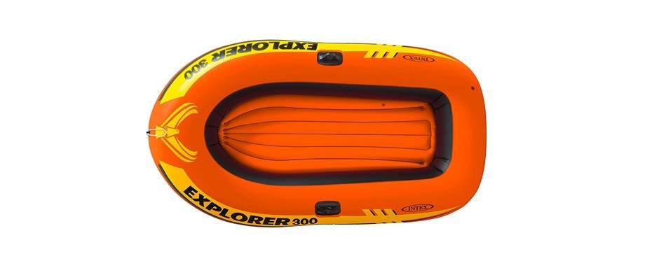 intex explorer 300, bateau pneumatique 3 places