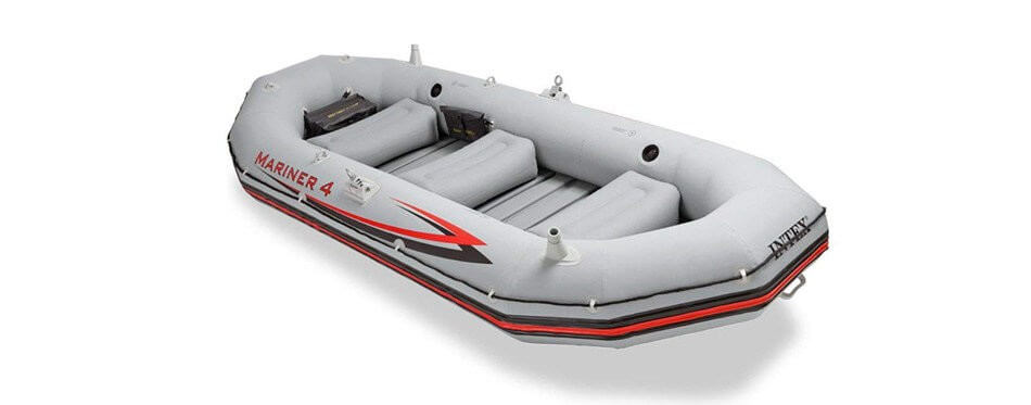 bateau pneumatique intex mariner 4, 4 places