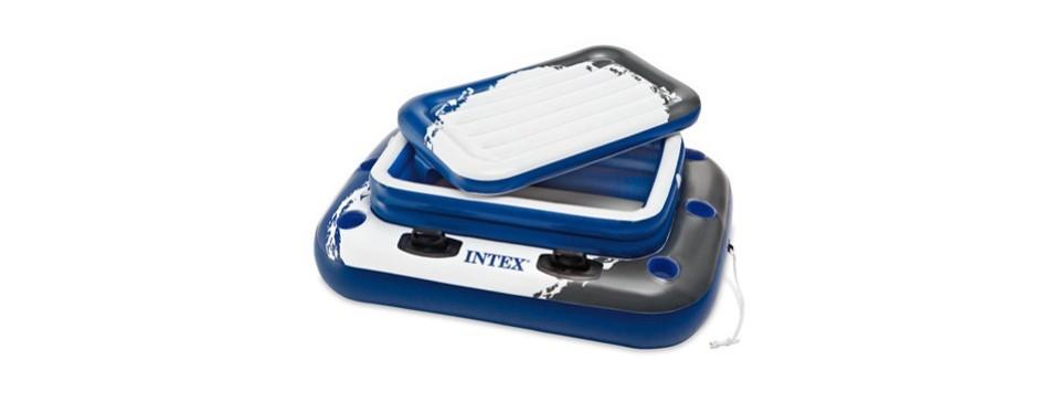 intex mega chill ii, inflatable floating cooler