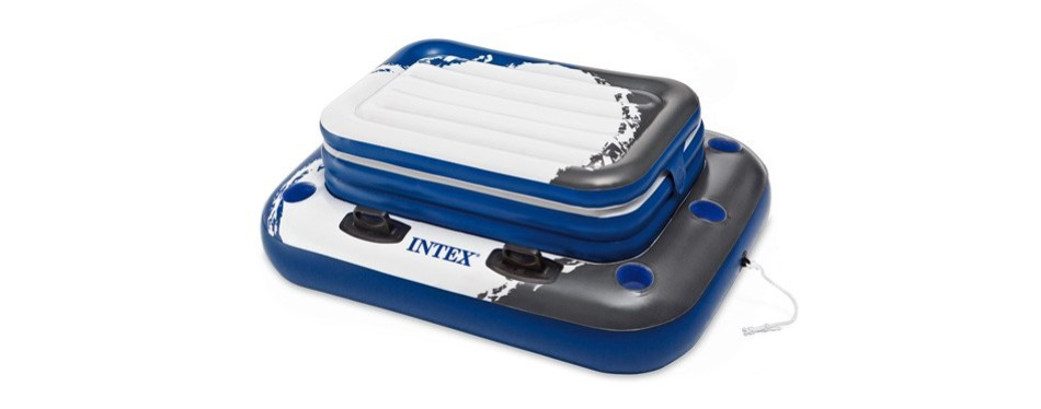 intex mega chill ii, inflatable floating cooler