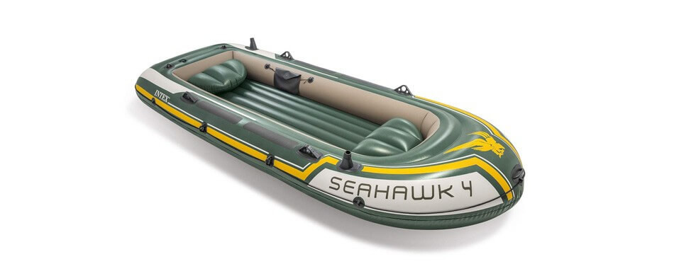 bateau pneumatique intex seahawk 4, 4 places