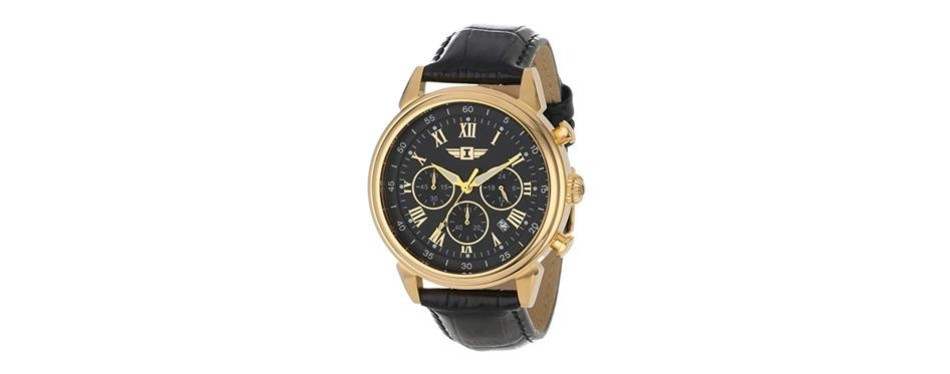 invicta men's 90242-003 invicta i 18k gold-plated stainless steel watch