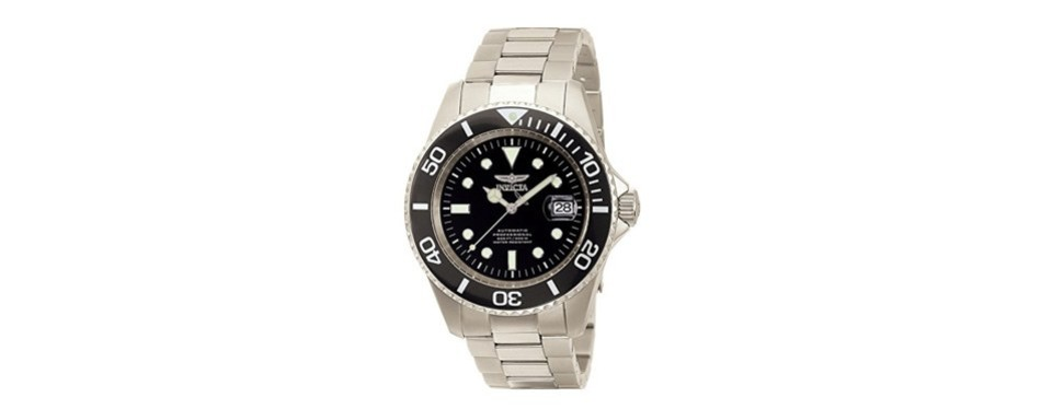 invicta pro-diver automatic black dial