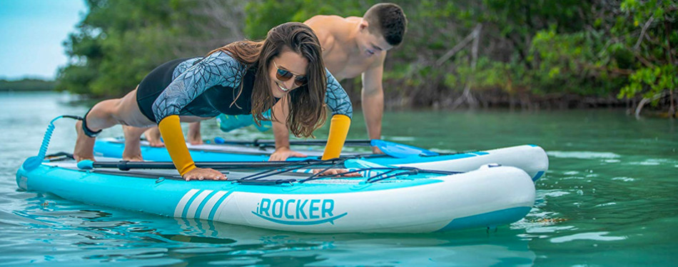 irocker cruiser inflatable stand-up paddleboard