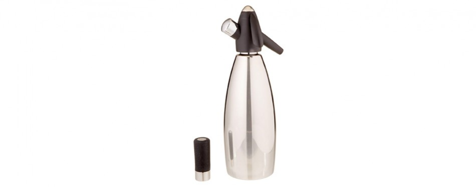 isi stainless steel soda siphon bottle