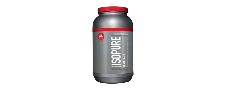 isopure zero carb 100% whey protein powder