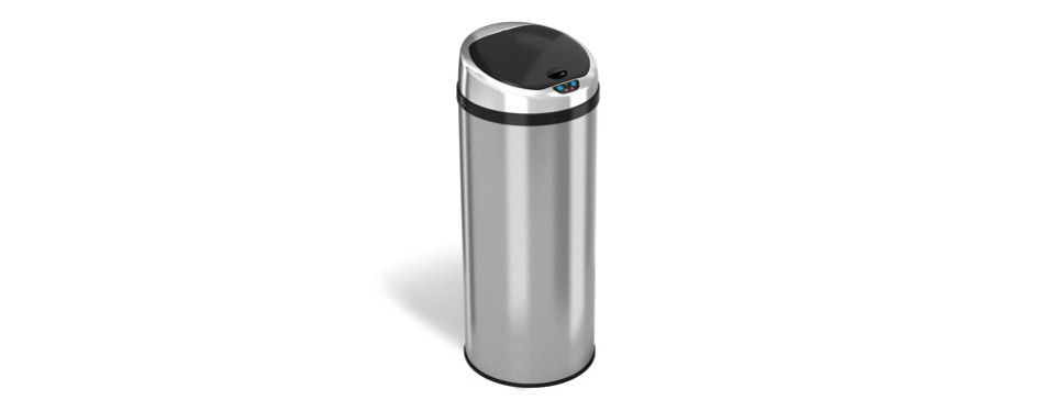 itouchless automatic touchless sensor kitchen trash can