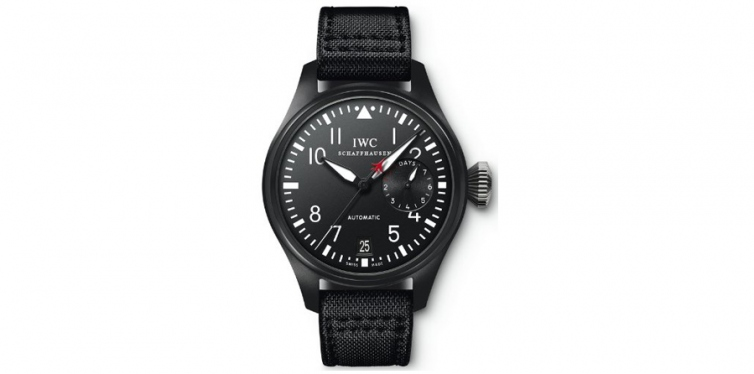 IWC Big Pilot Top Gun Black Dial Automatic Power Reserve Watch