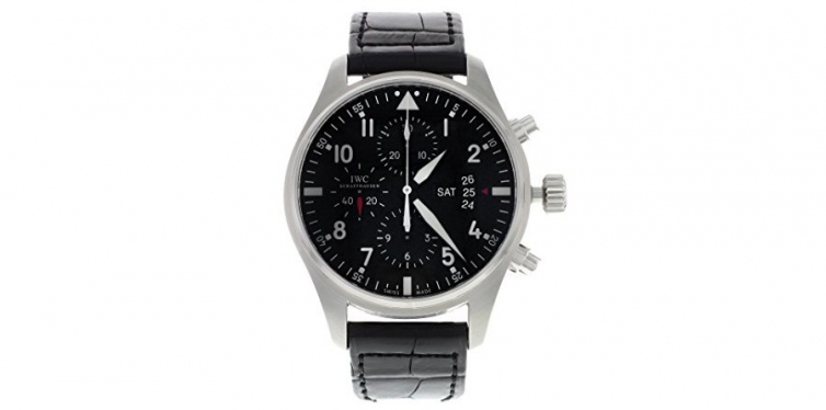iwc men's swiss automatic stainless steel casual watch