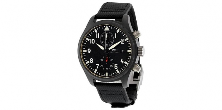 IWC Pilot's Top Gun Automatic Chronograph Watch