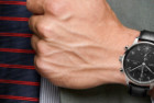 iwc portugese men's swiss quartz watch