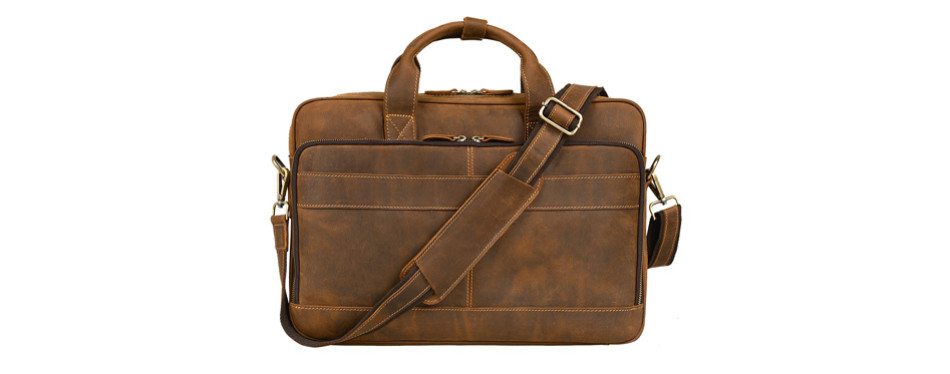 jack&chris briefcase messenger bag