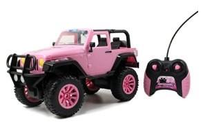 jada toys girlmazing big foot jeep r/c vehicle